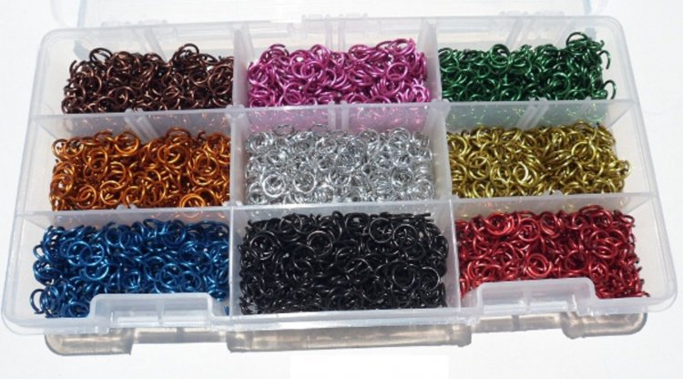 5/32 18g Jewelers Kit assortment with Organizing Case - Click Image to Close